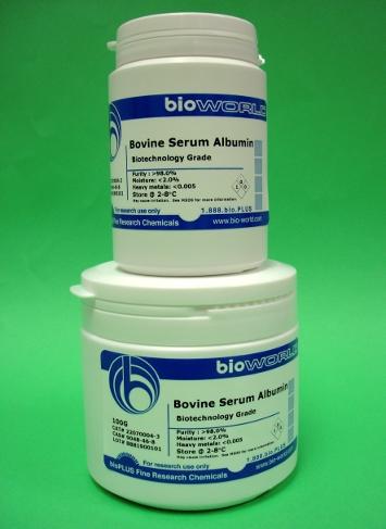 Bovine Gamma Globulin Lyophilized Powder, 96%