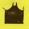 Rubber-Coated Apron, Black