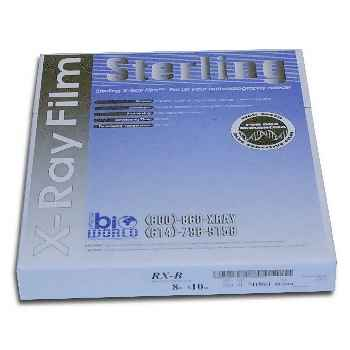 Sterling High Speed Film 14 x 17 in. (100/Box)