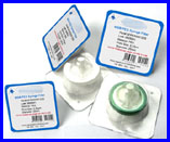 CA Syringe Filters, 0.22m, 25mm, 100/pk, Sterile