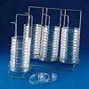 Poxygrid Petri Dish Dispensing Rack Single