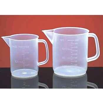 Beaker Printed w/ Handle, PP, (50 mL), 5/PK