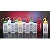 Safety Labeled Wash Bottles, Isopropanol, 500mL (6/PK)