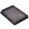 Polystyrene Plates Sterile 384-well, w/lid (30/CS), flat bottom