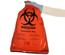 BioHazard Bags (Red), 33gal
